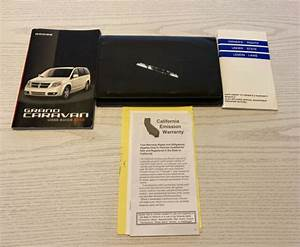 2010 Dodge Grand Caravan Owners Manual With Supplement