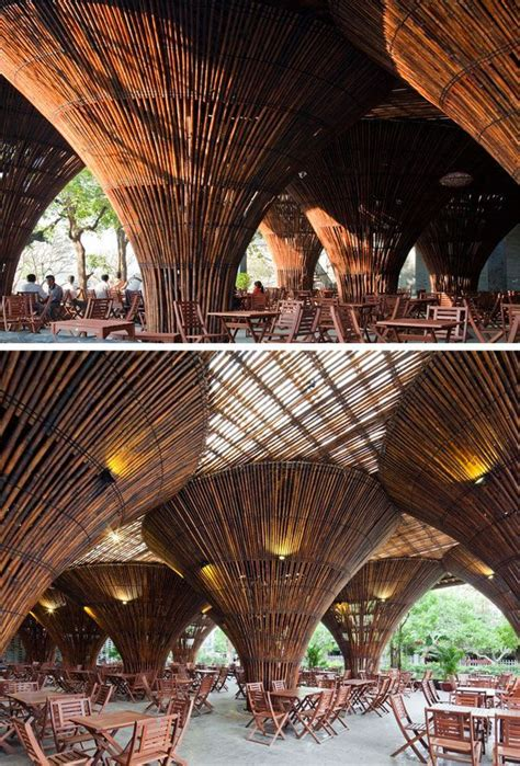 kontum indochine caf takes bamboo to whole new level