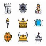 Castle Medieval Icon Iconos Icons Packs Vectorified