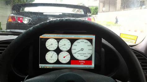 touch screen digital dash brewed tuned aem rb bmw youtube