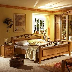 Rustikales Komplettschlafzimmer Tambora im Landhausstil