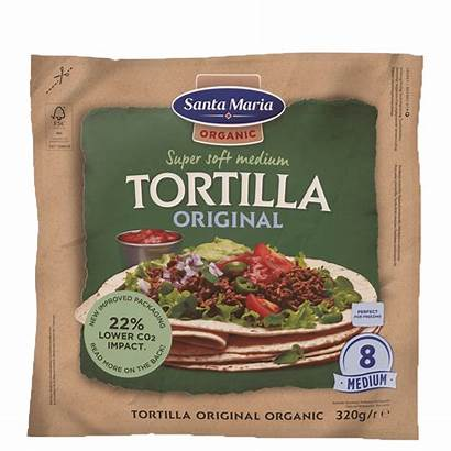 Tortilla Organic Maria Tex Mex Santa Pack