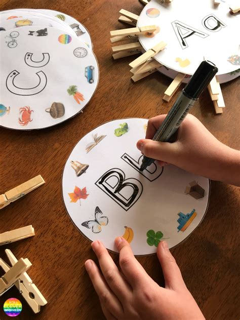 teach beginning letter sounds  clever monkey