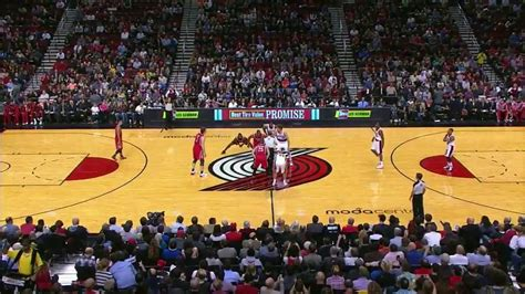 2013.11.5 NBA Houston Rockets vs Portland Trail Blazers ...