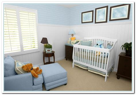 painting color combination  babys bedroom home