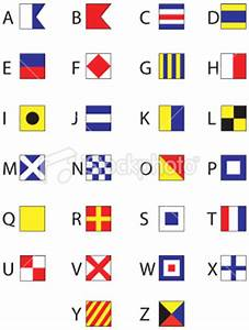 5 best images of free printable nautical flags nautical With nautical letter art