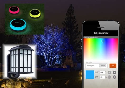 Led Lights For Room Controlled By Phone by Smart Outdoor Lighting Ideas For Home Automation Security