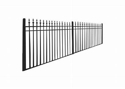 Iron Fence Fences Icon Fencing Services Coast