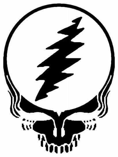 Stencil Grateful Dead Steal Stealie Face Skull