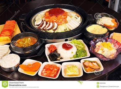 cuisine coreenne cuisine coréenne photo libre de droits image 29635935