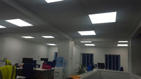 castleelectricalservices led office lighting