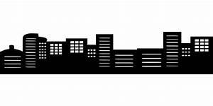 Vector gratis: Silueta, Ciudad, Edificios Imagen gratis en Pixabay 1564343