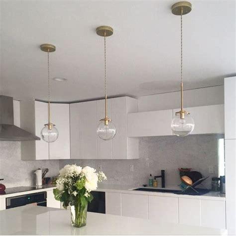 chandelier kitchen lighting globe solid brass glass globe pendant light modern 2077