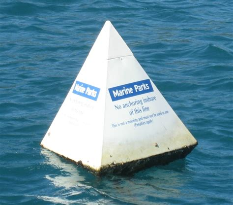 Buoy Boat Barrier by Anchoring And Mooring Gbrmpa
