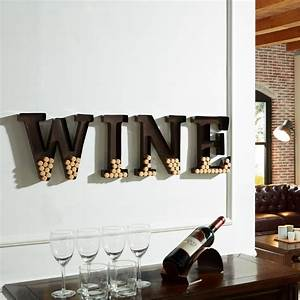 danya b wine letters metal wall mount cork holder hg10196 With metal letters for wine corks