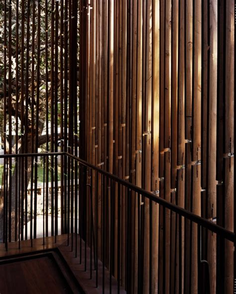 bamboo fence treatment interior design ideas