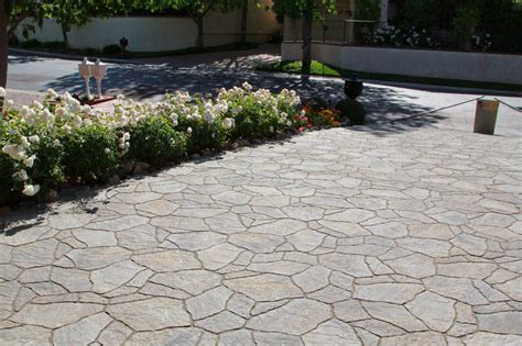 flagstone patio pavers gardener paving flagstone patio
