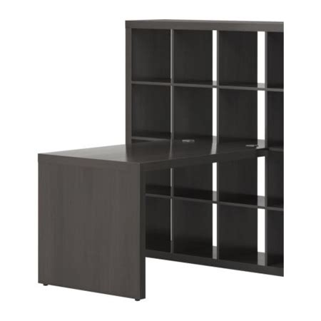 ikea expedit desk expedit a bookshelf and desk in one modern home decor