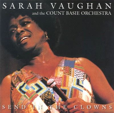 Send In The Clowns By Count Basie Orchestrasarah Vaughan