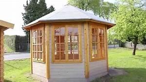 Dachpappe Schindeln Verlegen : pavillon carmen 7 youtube ~ Articles-book.com Haus und Dekorationen