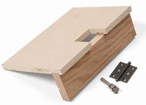 Simple Jig for Hinges - FineWoodworking