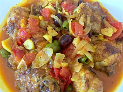 la cuisine proven軋le poulet à la provençale blogs de cuisine