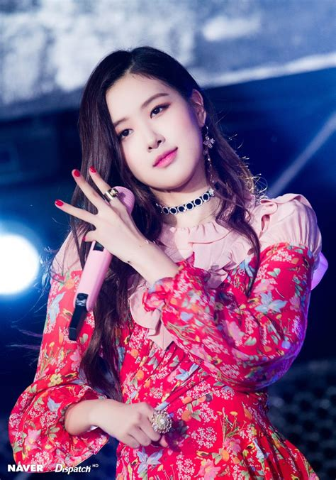 blackpink korea musica festival rose