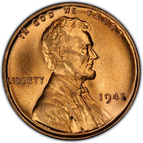what are wheat pennies worth 1942 lincoln wheat pennies values and prices past sales coinvalues com