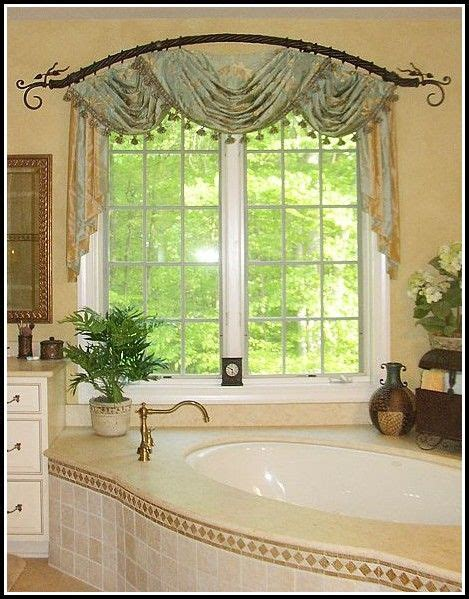 Curved Drapery Rods For Windows by Curved Window Curtain Rods For Archhome Design Ideas