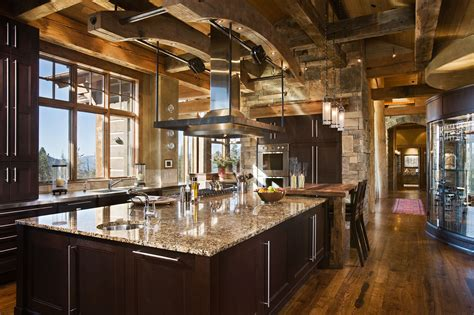 kitchens  dining rooms  luxury mountain homesblue