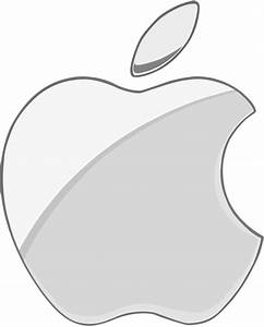 Silver Apple logo 2 flat by WindyThePlaneh on DeviantArt