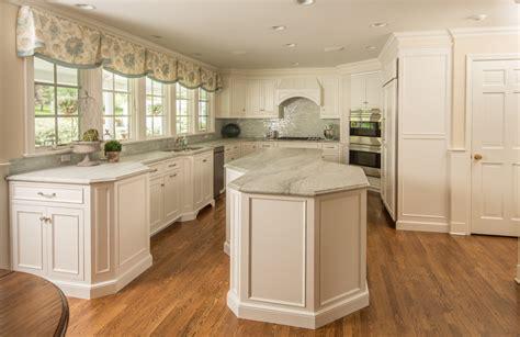 Kitchen Design In Wilton Ct  White Custom Cabinets