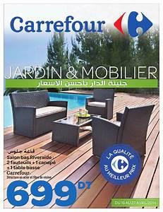 catalogue carrefour quotjardin et mobilierquot by carrefour With catalogue carrefour tunisie meubles