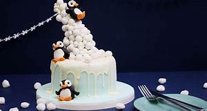 How to Make a Snowball Gravity Cake - Hobbycraft Blog