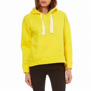 Sweat A Capuche Jaune : vero moda sweat capuche jaune brandalley ~ Melissatoandfro.com Idées de Décoration