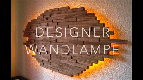 diy designer wand lampe selber bauen anleitung mrhandwerk