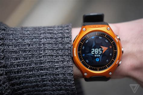 Best Outdoors Watches Casio Smart Outdoor Review Android Wear Climbs A