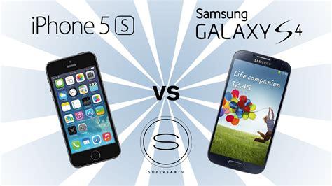 galaxy s4 vs iphone 5s iphone 5s vs samsung galaxy s4 2326