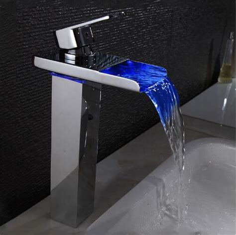 Modern Faucets For Bathroom by New Sink Tap Temperature Controlled Faucet Led Crane