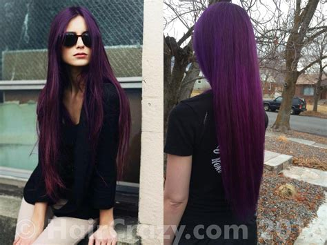 This Shade Of Purple Without Bleach!!!!! Preferably Manic