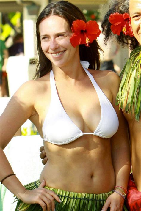 jennifer love hewitt bikini jennifer love hewitt busty in white bikini photo or poster