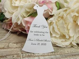 personalized bridal shower favor tags custom bachelorette With wedding shower thank you gifts