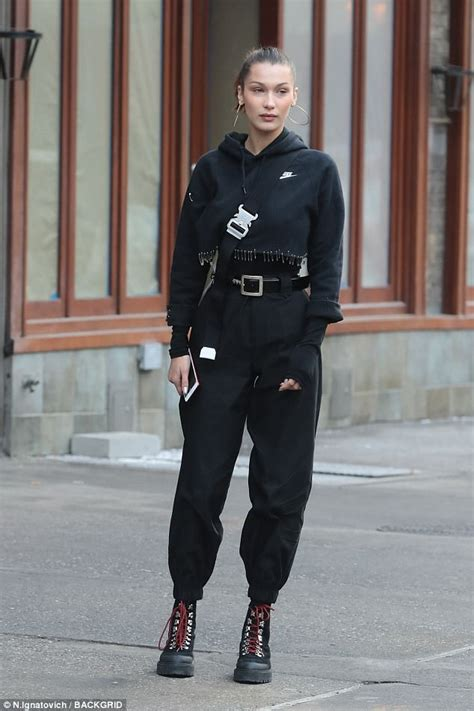 Bella Hadid Athleisure Combat Boots Style Chiko Shoes