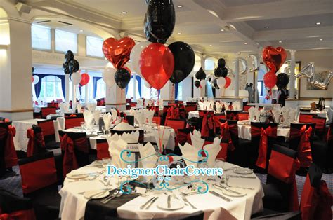 Black And Red Casino Night At Bromley Court Hotel