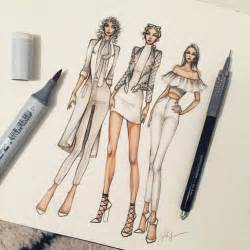 clothing designs best 20 fashion illustrations ideas on