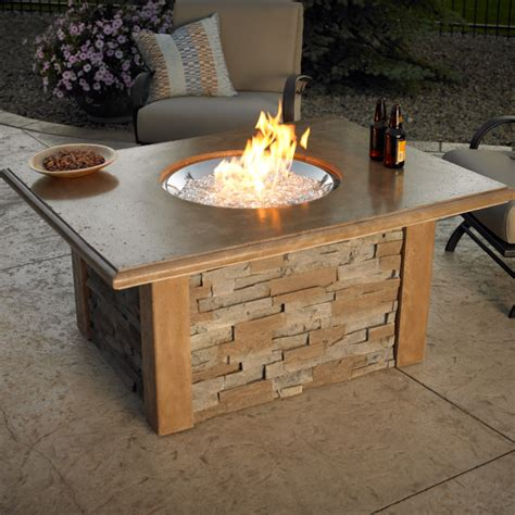 build gas fire table outdoor fire tables marquis company stores of oregon