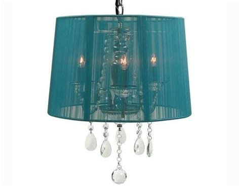 Chandelier With Sheer Drum Shade by Organza Shade Chandeliers