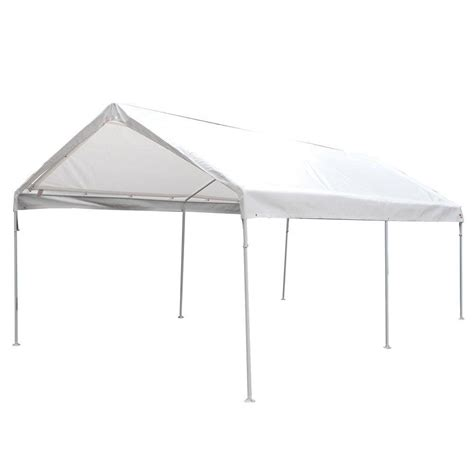 king canopy  ft    ft   leg universal canopy  white cpc  home depot