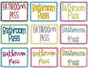 classroom freebies too hand sanitizer bathroom pass