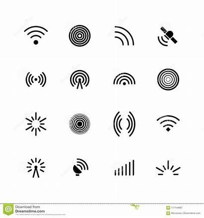 Signal Wifi Radio Antenna Wave Wireless Symbols